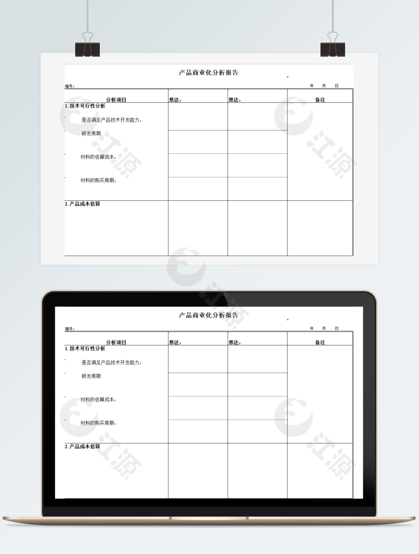 新产品商业化分析报告